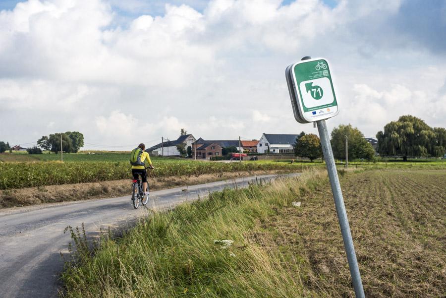points-nœuds vélo en Wallonie