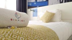 Hôtel Simplon à Lyon - possibilité de mettre un vélo
