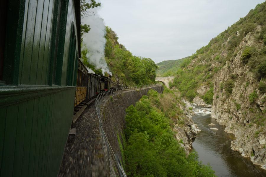 Dolce Via en Ardèche - le train de l'ardèche Le Mastrou