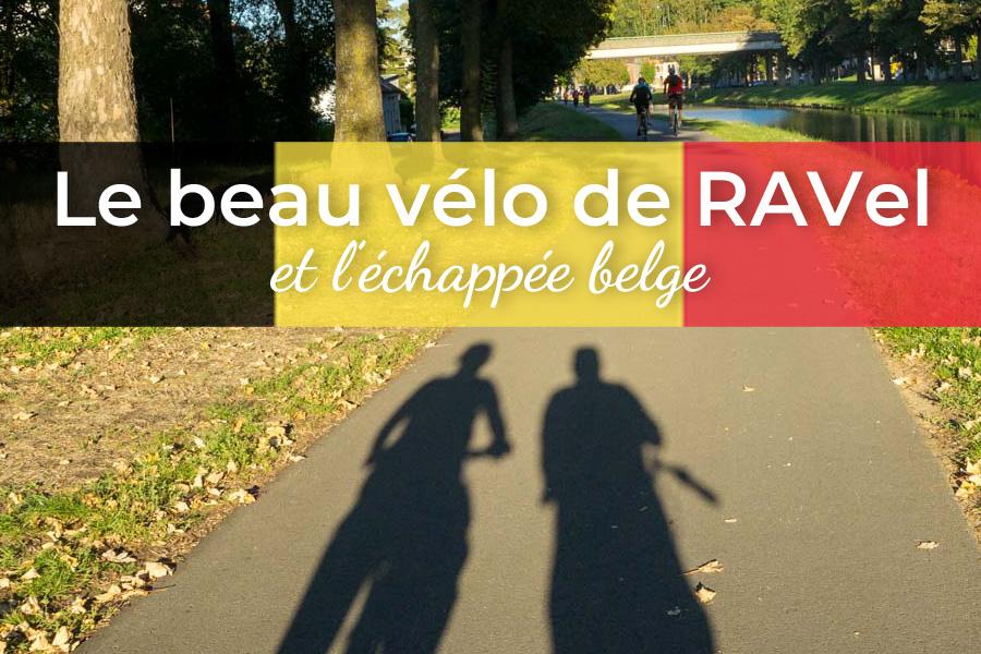 Beau vélo de RAVeL