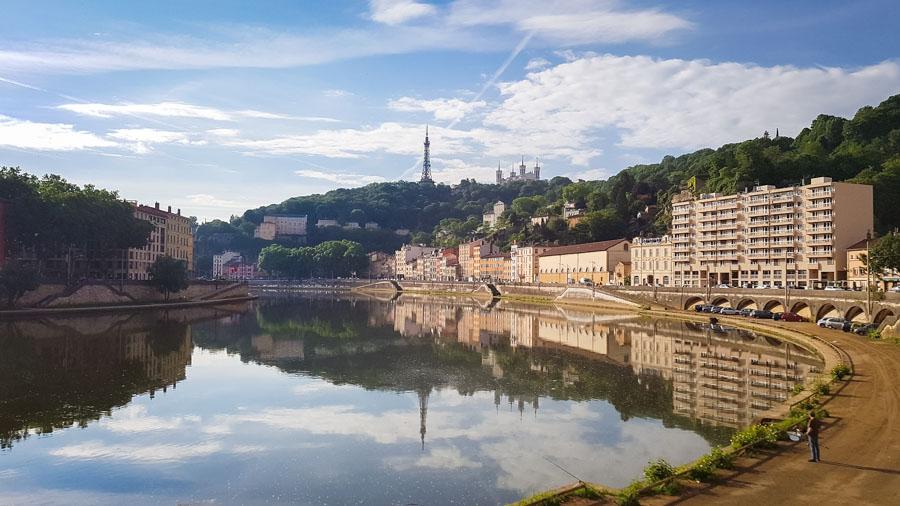 Les berges de Lyon