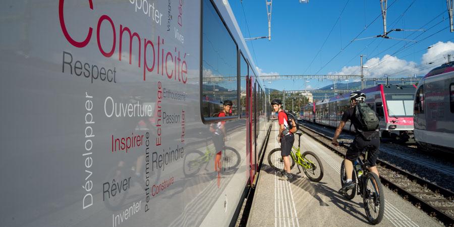 Intermodalité en Suisse