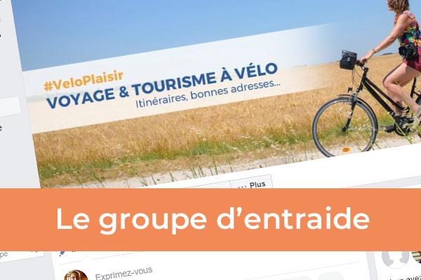 box facebook groupe voyage à vélo