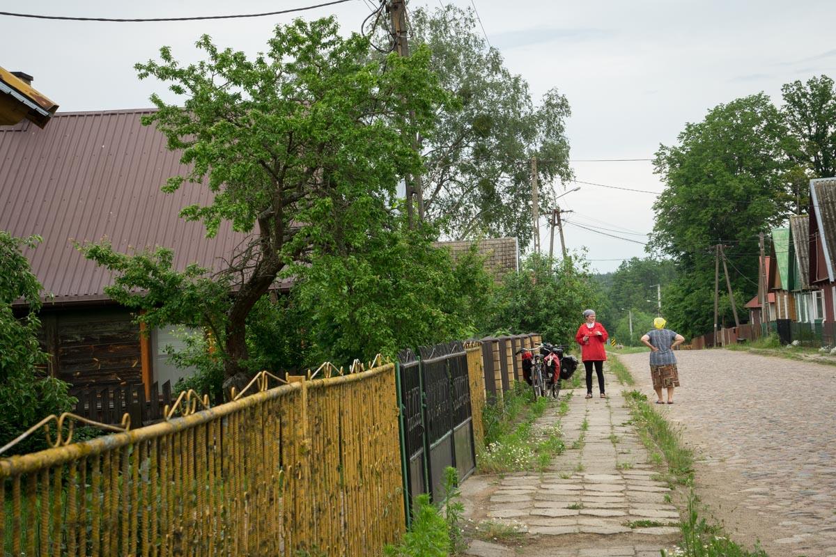 village dans le parc naturel deKnyszyn