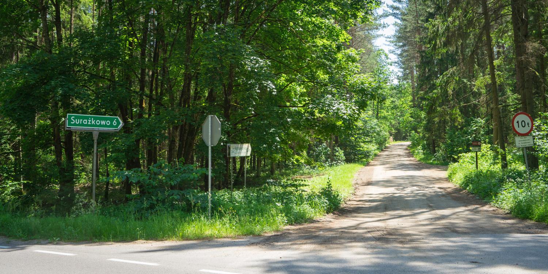 Road 676 to Surażkowo, Suprasl