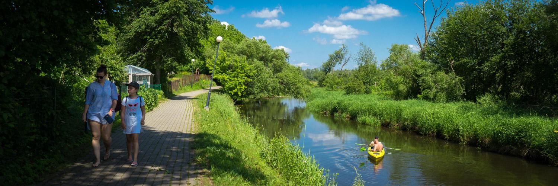 Kayak à Suprasl, Knyszyn Forest Landscape Park