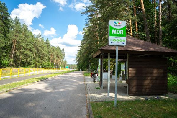 MOR Green velo, Pologne