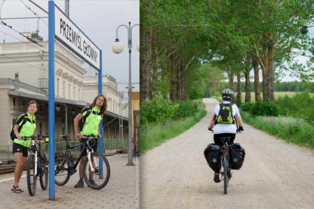Prendre son vélo dans le train en Pologne
