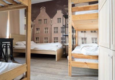 Elewator Hostel à Gdansk (Pologne)